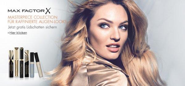 Gratis Max Factor Lidschatten beim Kauf einer Max Factor Mascara bei Amazon