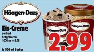 Häagen Dasz 500ml [BONI-Center, Witten] für 2,99€