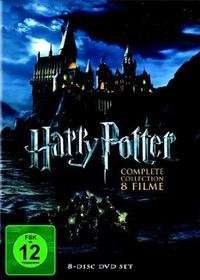 Harry Potter - The Complete Collection, 8 DVD für 17,09 € inkl. Versand bei Thalia.de