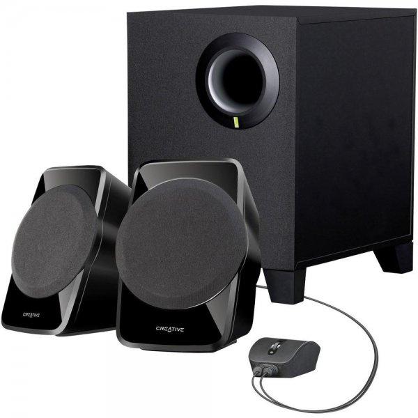 [Conrad] Creative Inspire SBS A120 (2.1 Lautsprechersystem) für 19,50€ + 5fach Paybackpunkte