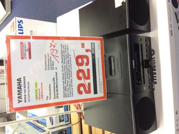 Yamaha MCR-B 142 [lokal Saturn Essen Steele] 197,- EUR in schwarz und weiß