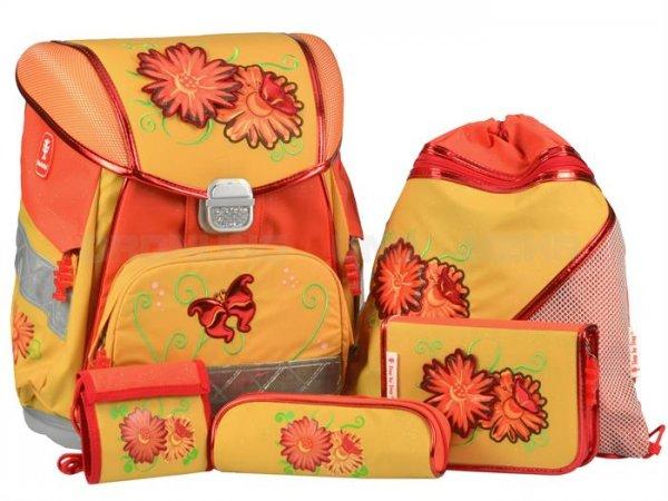 HAMA Step-by-Step Sunny Flowers, 5-teiliges Schulranzen Set für 49,99 €, @Ebay WOW