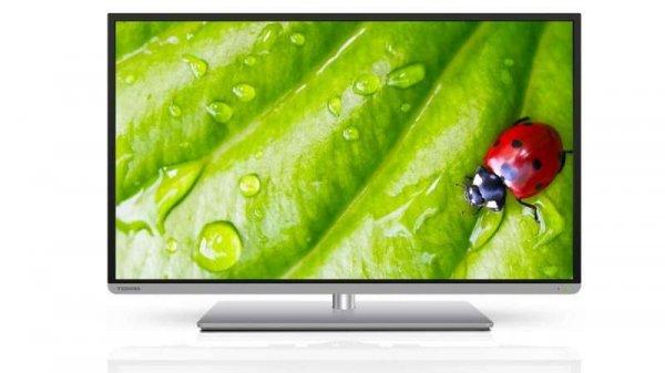 [REAL Bundesweit] Toshiba 3D Full HD LED TV 121cm (48 Zoll) mit SmartTV (48L5435DG)  für nur 499€ (Angebot)