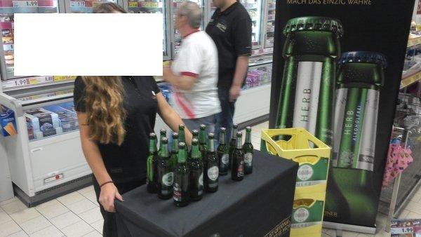 lokal hanau kaufland gratis [Warsteiner] bier für alle