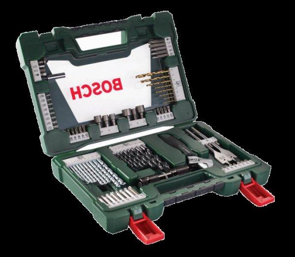 Bosch V-Line 83 teilig Bit- und Bohrer-Set Zubehör 2607017193 für 22,99€
