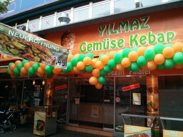 [Lokal - Berlin] Eröffnungsangebot bei YILMAZ - Gemüse Kebap für 1,50€
