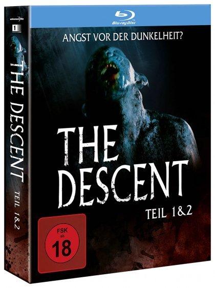 [MediaDealer] The Descent - Teil 1 + 2 (Uncut, Bluray, FSK 18) für 9,76€