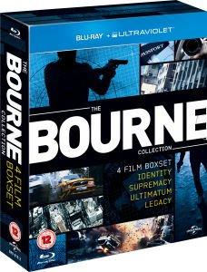 Bourne: The Complete 4 Movie Collection (Blu-ray) für 11,42€ @Zavvi.de