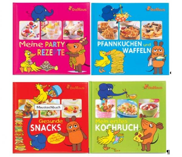 Hier kommt die Maus… Die Maus Kochbücher bei Aldi Süd für 2,99€