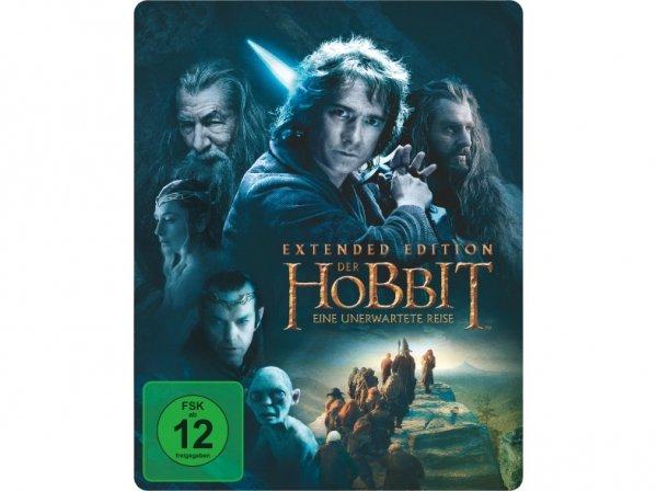 Der Hobbit: Eine unerwartete Reise - Extended Edition (Steelbook) - (Blu-ray) @Saturn Online Offers für 12€ (versandkostenfrei)