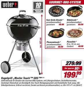 Weber Kugelgrill Master Touch 57cm GBS 199,99€
