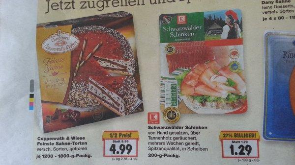 """[Lokal Siegburg?] Coppenrath und Wiese """"Feinste Sahne"""" für 4.99 € bei Kaufland"""