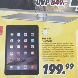 iPad mini 16GB 199,99€ MediMax Offenburg