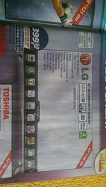 LG 42LB676V 700HZ LED TV für 399Euro bei REAL
