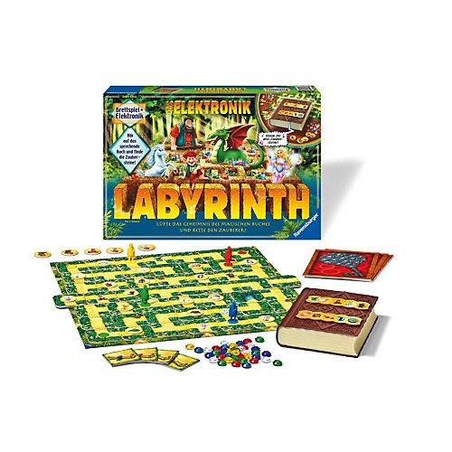 [MyToys] Das verrückte Labyrinth - elektronische Version mit magischem Zauberbuch für 22,94€