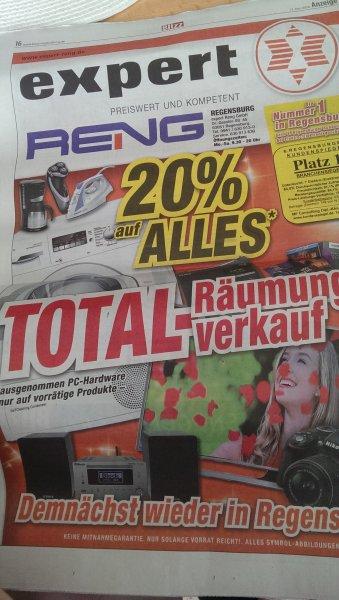 [Lokal expert Reng Regensburg] 20% auf alles *