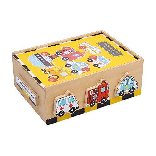 """[Amazon-Prime]Legler Puzzle-Box """"Fahrzeuge"""""""