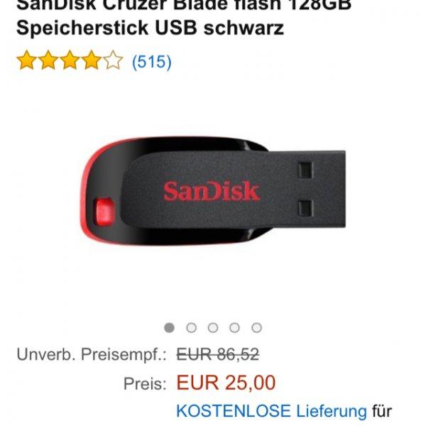 SanDisk Cruzer Blade 128Gb