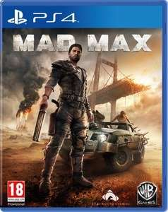 Mad Max PS4/XBOX ONE bei Zavvi