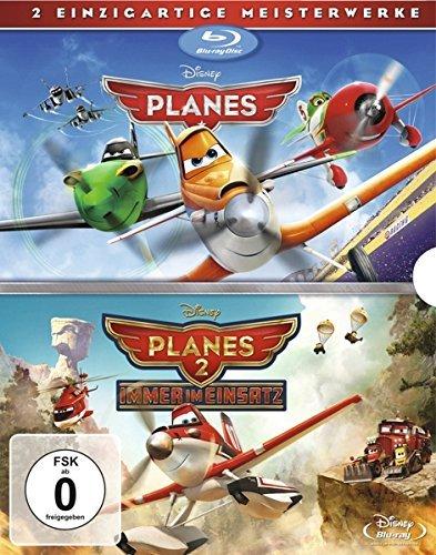 Disney Planes + Planes 2 Doppelpack [Blu-ray] für 9,97€ > Amazon.de > Prime
