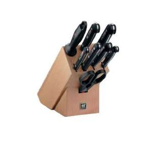 Zwilling Twin Gourmet Messer Set Block 9-tlg., 99,- EUR @ amazon