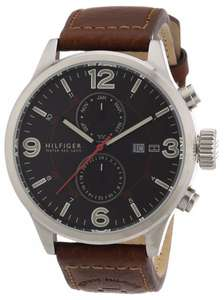 Tommy Hilfiger Watches Herren-Armbanduhr XL Analog Quarz Leder 1790892
