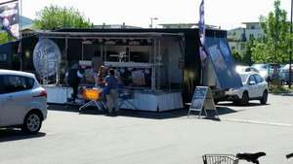 Kostenlos Ristorante-Pizza futtern in Heidelberg Rohrbach vorm Rewe
