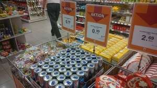 local @ Müller Schwetzingen :red Bull und Red Bull sugar free