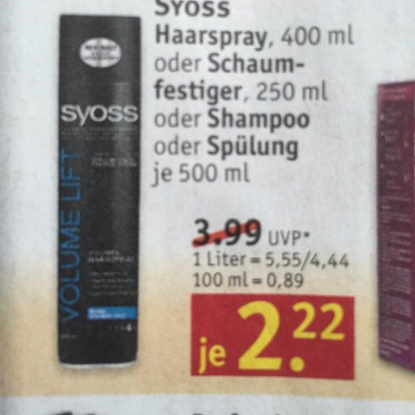 Syoss Haarshampoo/Spülung