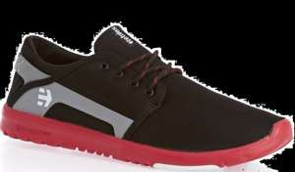 Coolshop: Etnies Scout black/red 31€ günstiger Gr. 41-45 HERREN SCHUHE - selber Tragekomfort wie Nike Rosherun, Nike Free etc.