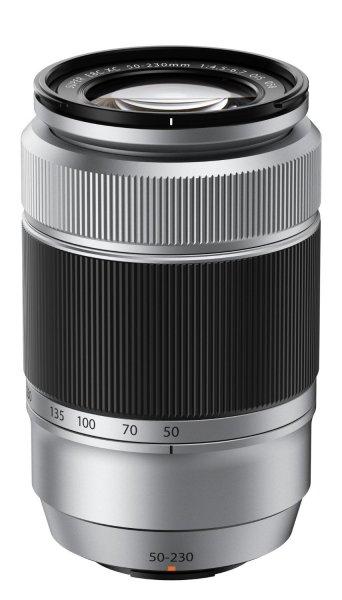 Fujifilm Objektiv Fujinon XC 50-230mm 1:4.5-6.7 OIS silber (Fuji X-Mount) für 140,68 € @Amazon.fr