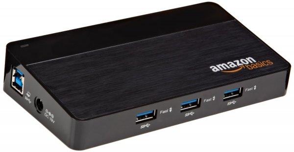(Amazon.de-Prime) AmazonBasics USB-Hub  10 Ports  USB 3.0 28,99€
