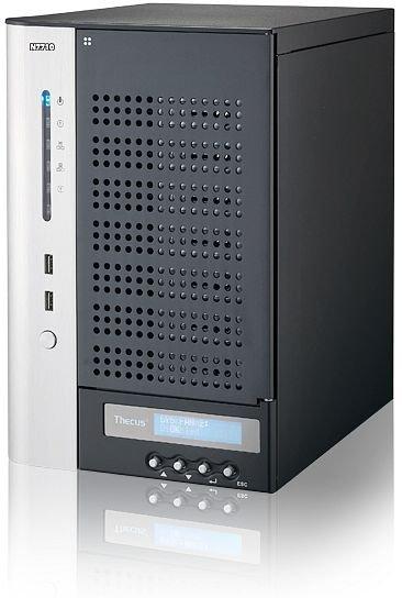Thecus N7710, 7 Bay NAS mit upgrademöglichkeit auf 10 GB Netzwerk