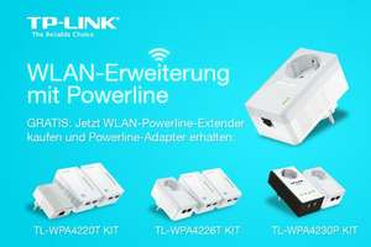 [Amazon.de]TP-Link Powerline Bundleaktion -> gratis Powerline Adapter TL-4010P