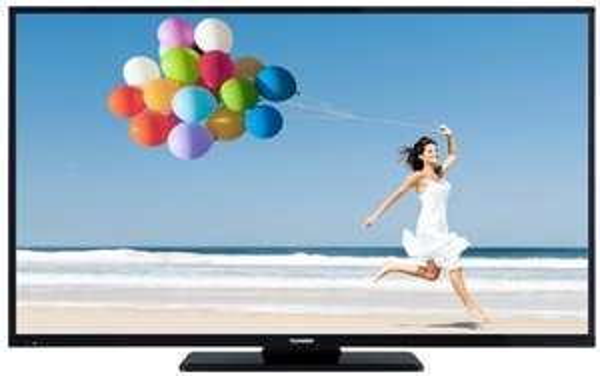 Amazon Blitzangebote: Telefunken D49F283I3C 125 cm (49 Zoll) LED-Backlight Fernseher, EEK A+ (Full-HD, 600Hz CMP, DVB-C/T/S2, Smart TV, HbbTV, DLNA, CI+, 3x HDMI, 2x USB, Hotelmodus) schwarz [Energieklasse A+] @ 469,99 Euro