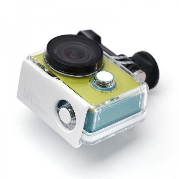 Xiaomi Yi Action Cam Unterwasser Gehäuse in weiß (bis 40M) ~ 10,75€ @ AliExpress