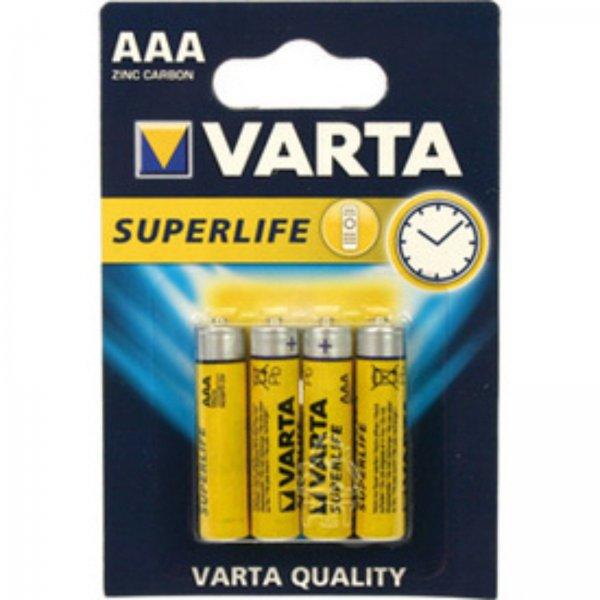 4 x Batterien Varta AAA Batterie 1,5 V für 1,50 Euro @eBay