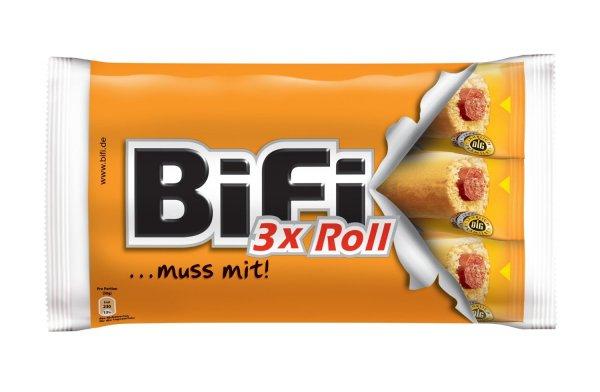 Bifi Roll oder carazza 3er pack 1,59 bei Lidl
