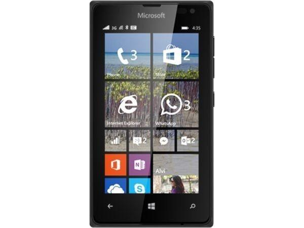 Lumia 435 Dual Sim Weiß