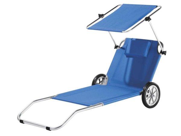 (LIDL) Für alle Angler - Strandliege / Transportwagen