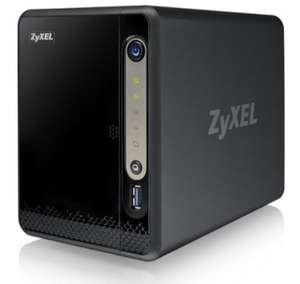 ZyXEL NSA325v2 NAS-Server (2-Bay, SATA II, 1x Ethernet, USB 3.0)