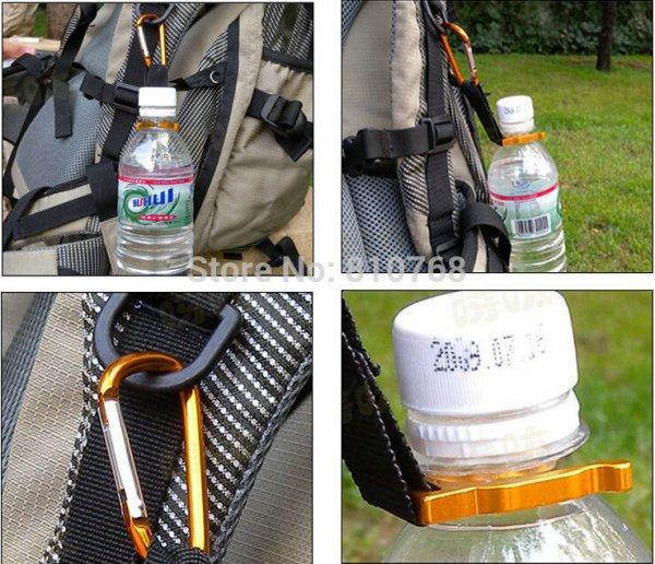Flaschenhalter mit Karabiner [China]