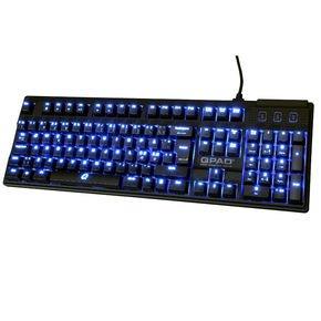 QPAD Gaming Tastatur MK 70, rote Cherry Switches, für 77 Euro, keine Versandkosten, bei NBB