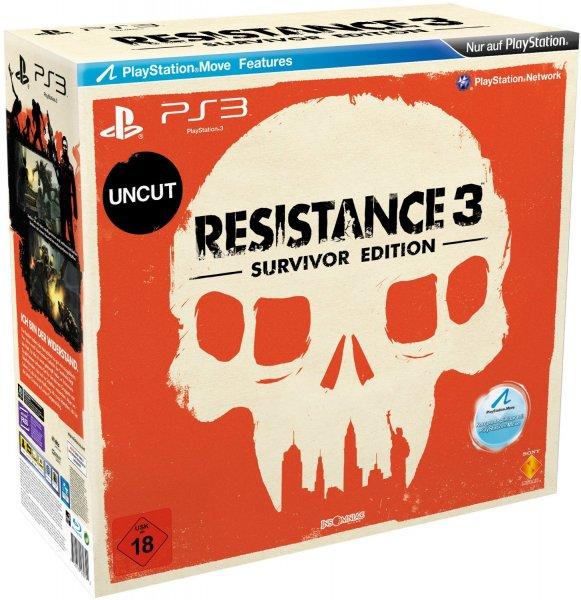 (Amazon.de) Resistance 3 - Survivor Edition PS3 47,72€