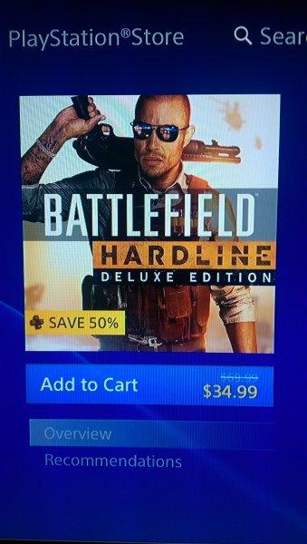 [PS Plus US] Battlefield Hardline Deluxe Edition für ca 32€ (ca. 38€ ohne PSplus) // BF4 inkl. Premium 22€