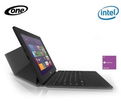 """Sonderposten! ONE Tablet Xcellent 10"""" - 10.1'' / 2 GB RAM / 32 GB SSD / Intel Atom Z3735F / 1280 × 800 px / Windows 8.1 + magnetische Dockingstation mit Tastatur und Touchpad für 159,99€ zzgl. Versand 7,99€@one.de"""