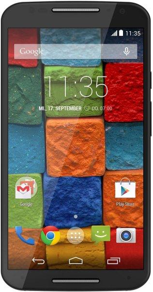 Motorola Moto X 2. Generation Smartphone (13,2 cm (5,2 Zoll) Full HD-Display, 13 Megapixel Kamera, Quad-Core Prozessor, 32GB interner Speicher, Android KitKat 4.4.4) schwarz @Amazon.de