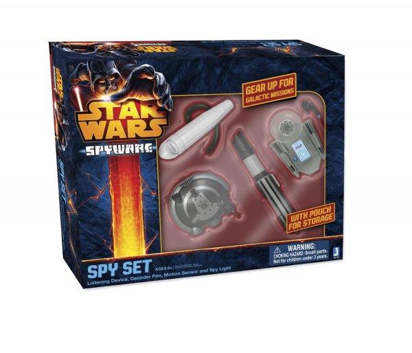 [Amazon-Prime]Star Wars Spy Jedi-Spionageset, vier Spionageartikel mit praktischer Halterung