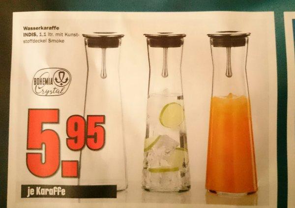 Bohemia Crystal Karaffe 1,1l /Bundesweit 5,95