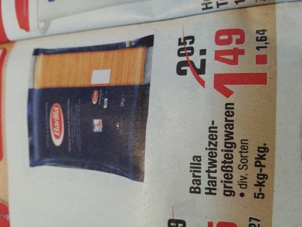 [AT-Metro] 1,64€ Barilla 5000g Packung div. Sorten
